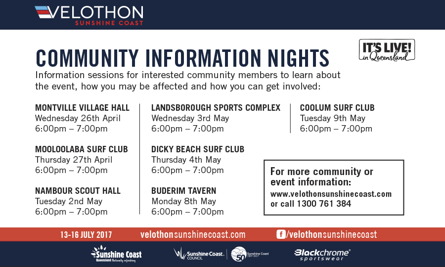 Community Info Sessions