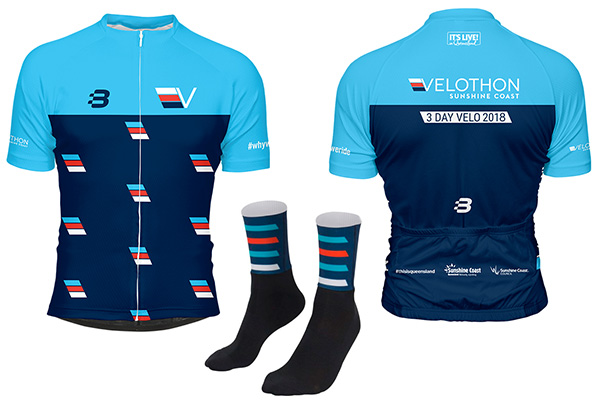 VeloSC 2018 Merch Jersey Socks