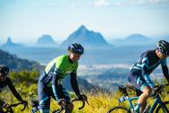 Stage 3 features the scenic Glasshouse Mountains