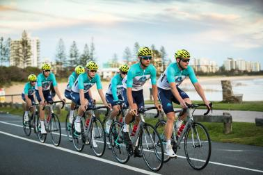 Australian Cycling Academy Riders Debut