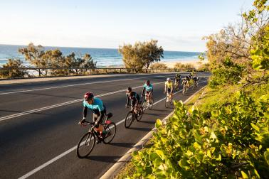 TIRED LEGS BUT BIG SMILES AT VELOTHON SUNSHINE COAST
