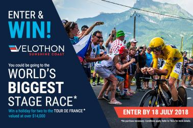 WIN A TRIP FOR 2 TO THE WORLD'S BIGGEST STAGE RACE!