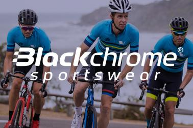 Blackchrome announced as Cycling Apparel Partner